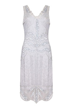 Gatsby Dress silver