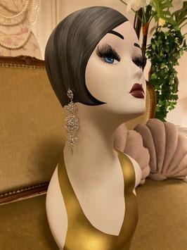 Gerda Earrings - Silver