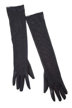 Mesh Gloves Black