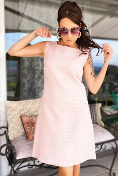 ChupChup 60s Twiggy Dress - Dusty Pink