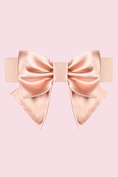 Big Bow Belt - Dusty Pink