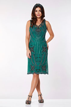 Gatsby Dress teal