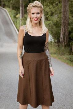 Flora Skirt - Goldbrown
