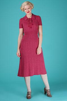 The Peachy Keen Knit Dress - Raspberry