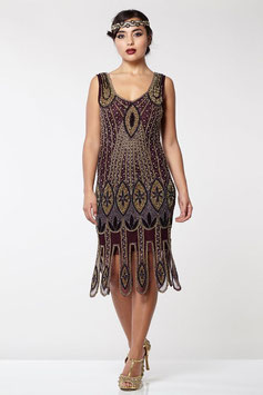 Gatsby Dress plum