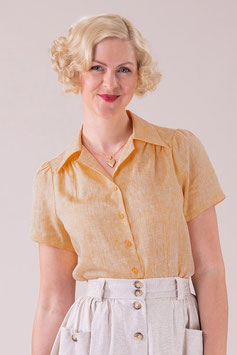 That Same Old Favorite Blouse -  Mellow Yellow Chambray