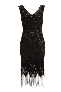 Gatsby Dress black