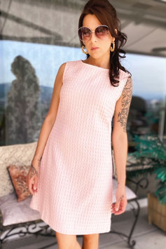 ChupChup 60s Twiggy Dress - Salmon