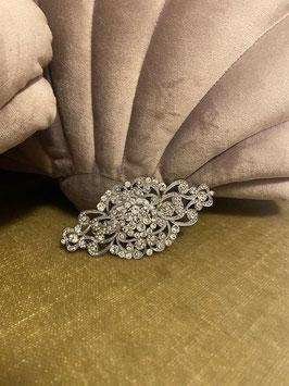 Haarspange- Silver