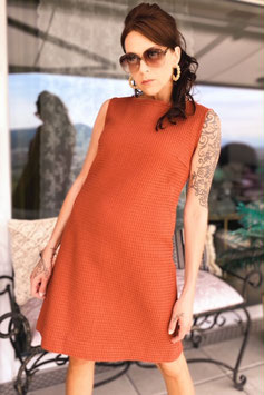 ChupChup 60s Twiggy Dress - Terra