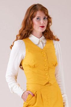 The Gentlewoman Waistcoat - Marigold Cotton
