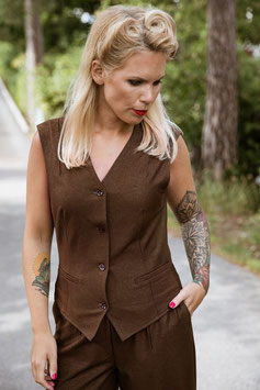 Cleo Vest - Goldbrown