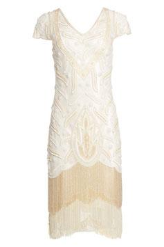 Gatsby Dress ivory