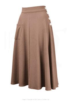 Whirlaway Skirt - Taupe