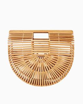 Bamboo Tasche beige oder schwarz