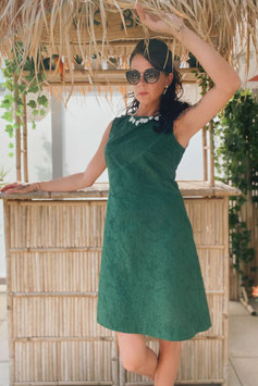 Chup Chup 60s Twiggy Dress - Green (Limited Summer Edition)