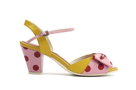 Lola Ramona Shoes Curry / Pink / Red