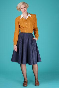 The Sweetest Swing Skirt - Blue Stripe