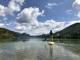 SUP Crossing the Lake - from Hof to Fuschl