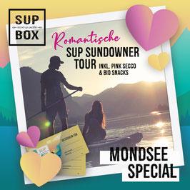 ❤️ Romantische SUP SUNDOWNER TOUR ZU ZWEIT! Inklusive Pink Secco & Bio Snacks