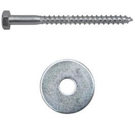 Befestigungs-Schraube 10 x 180 mm