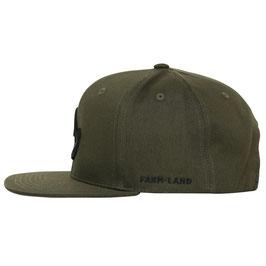 Farm-Land Snapback Cap 6-Panel