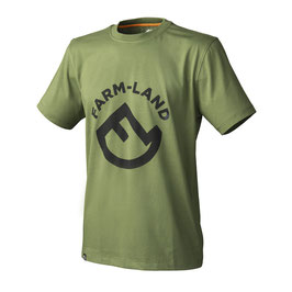 Farm-Land Herren T-Shirt Oliv
