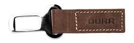 Gurtschlossstecker vintage brown