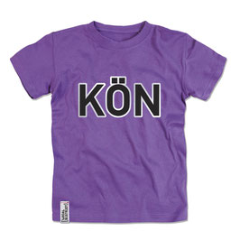 T-Shirt Kids violett Size XL