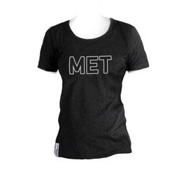 T-Shirt Frauen schwarz Größe M