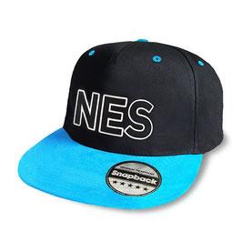 Snapback Cap blau