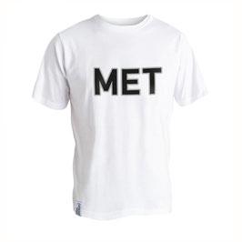 T-Shirt Men weiss Größe L