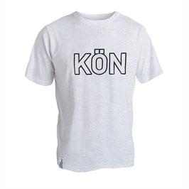 T-Shirt Men weiss Slub Größe L