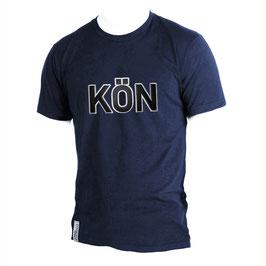 T-Shirt Men navyblau Größe L