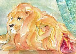 Oh mein geliebter Löwe