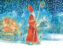 St Nikolaus auf dem Weg
