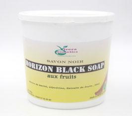 Savon noir eclaicissant aux fruits 750 g nappy gold