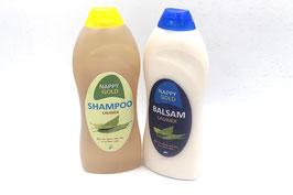Shampoing et après-shampoing au laurier