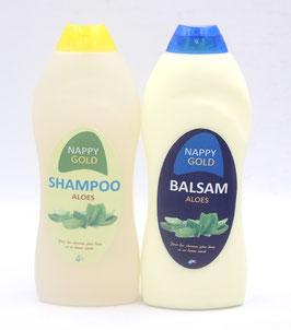 Shampoing et après-shampoing à l'Aloé Véra