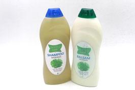 Shampoing et après-shampoing au Moringa