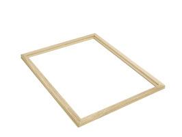 Universal-Holzrahmen für Metallabsperrgitter