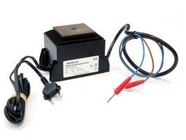 Trafo-Wabeneinlöter mit Überlastungsschutz für Edelstahldahtraht, 230 V / 38 V