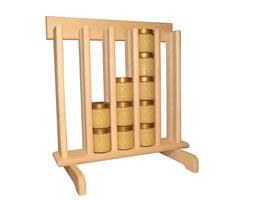 Honigverkaufsregal