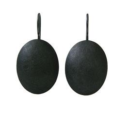 Oxidised Oval Drop