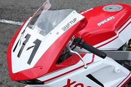 NSF100「1098type」 ハーフカウル/レース白ゲル/