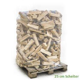 1 Ster Brennholz 25 cm Scheiter