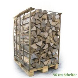 1 Ster Brennholz 50 cm Scheiter