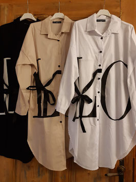 "Bluse ""LOVE"" Black"