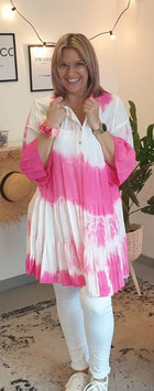 Tunikakleid BATIK SUMMER Pink