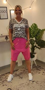 Baggy Bermudashorts Pink